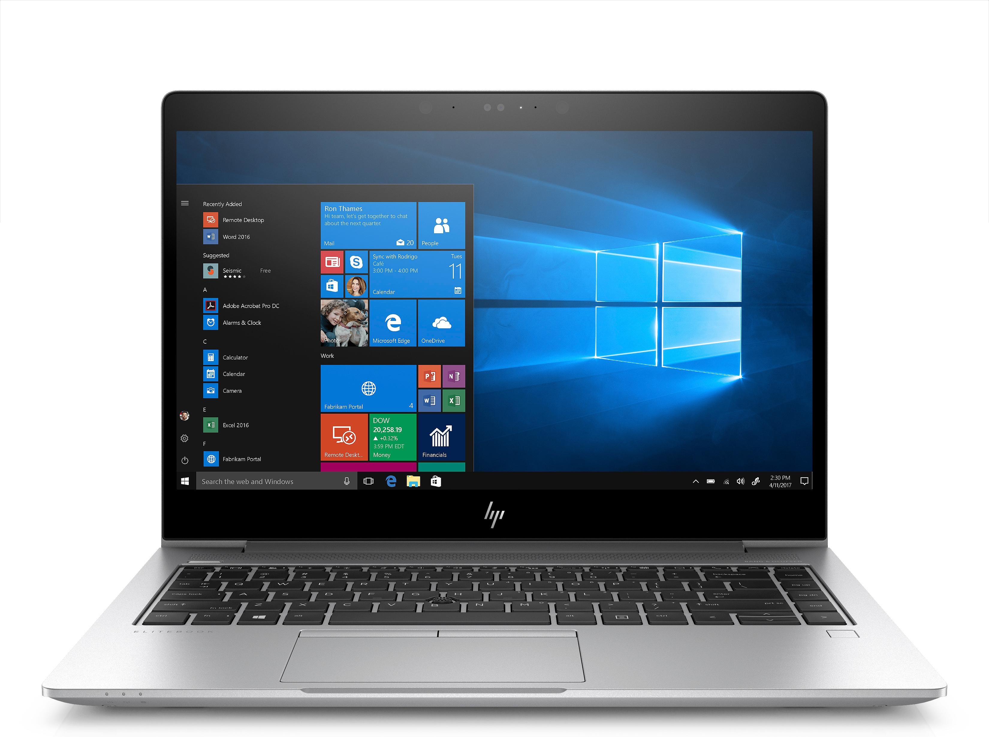 Hewlett Packard HP HP EliteBook 840 G5 14 256GB SSD i5 8250U