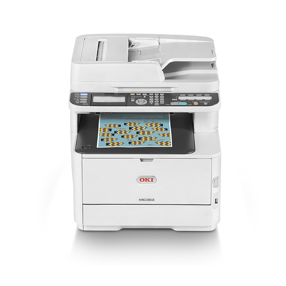 Oki MC363dnw A4 Farb-Multifunktionsdrucker