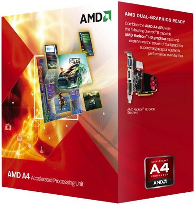 AMD FM2 A4 BOX 5300 3,40GHz 2xCore 65W