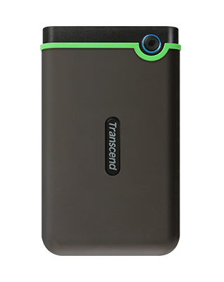 "Transcend TS500GSJ25M3S 500GB 2.5"" Portable HDD Ir"