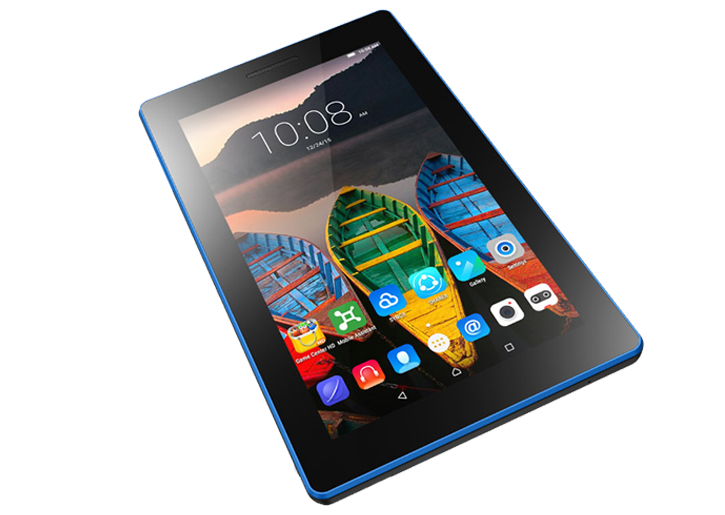 Lenovo TAB3 7 Essential 17,78 cm (7 Zoll IPS) Tablet (MediaTek MT8127 Quad-Core Prozessor, 1,3GHz, 1GB RAM, 8GB eMMC, 0,3MP + 2MP Kamera, Touchscreen, Dolby Audio, Android 5.0) schwarz