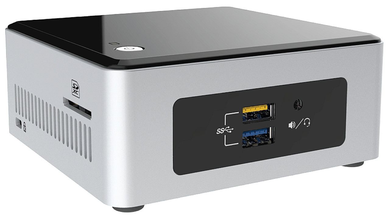 Intel NUC Barebone NUC5CPYH Pinnacle Canyon Ret