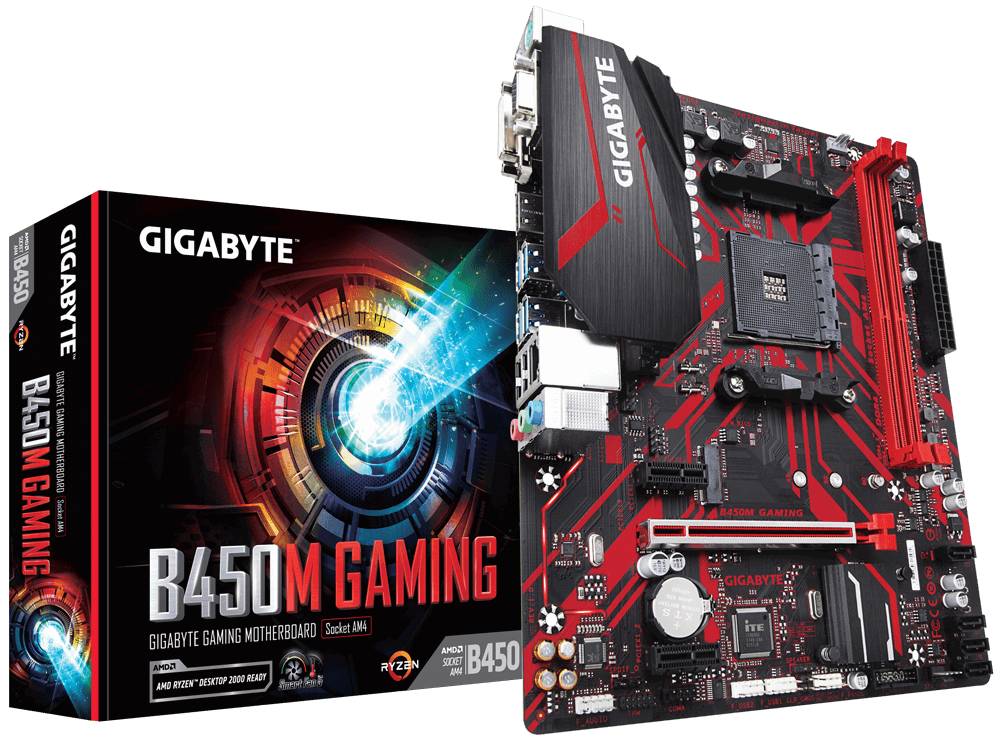 GigaByte AM4  B450M Gaming mATX