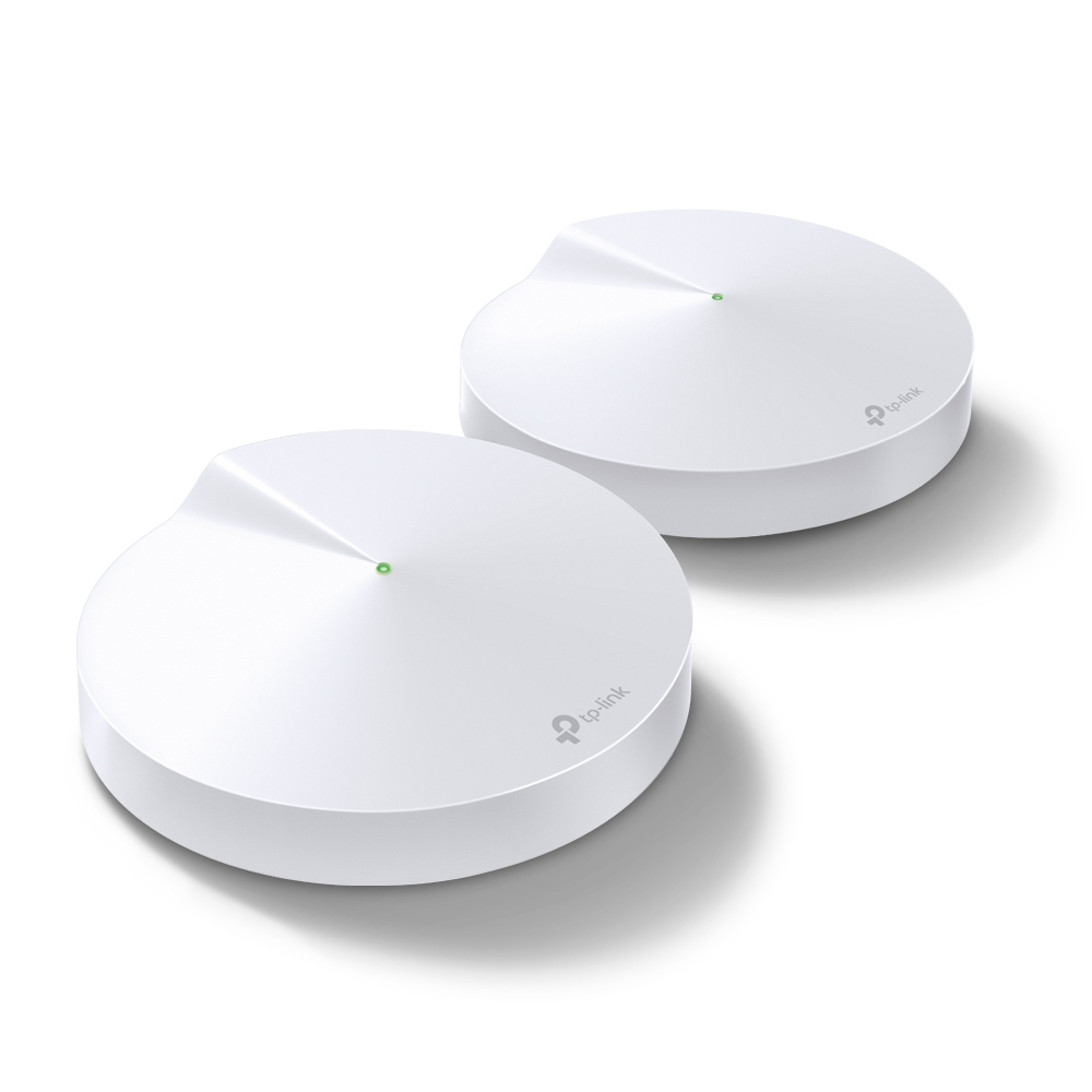 TP-Link Deco M5 Whole Home WLAN System 2er Pack [WLAN AC, 1267 Mbit/s, 2x Gigabit-LAN-Ports]