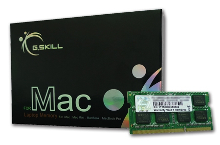 G.Skill SO DDR3 2GB PC 1066 CL7 /APPLE (1x2GB) 2GBSQ